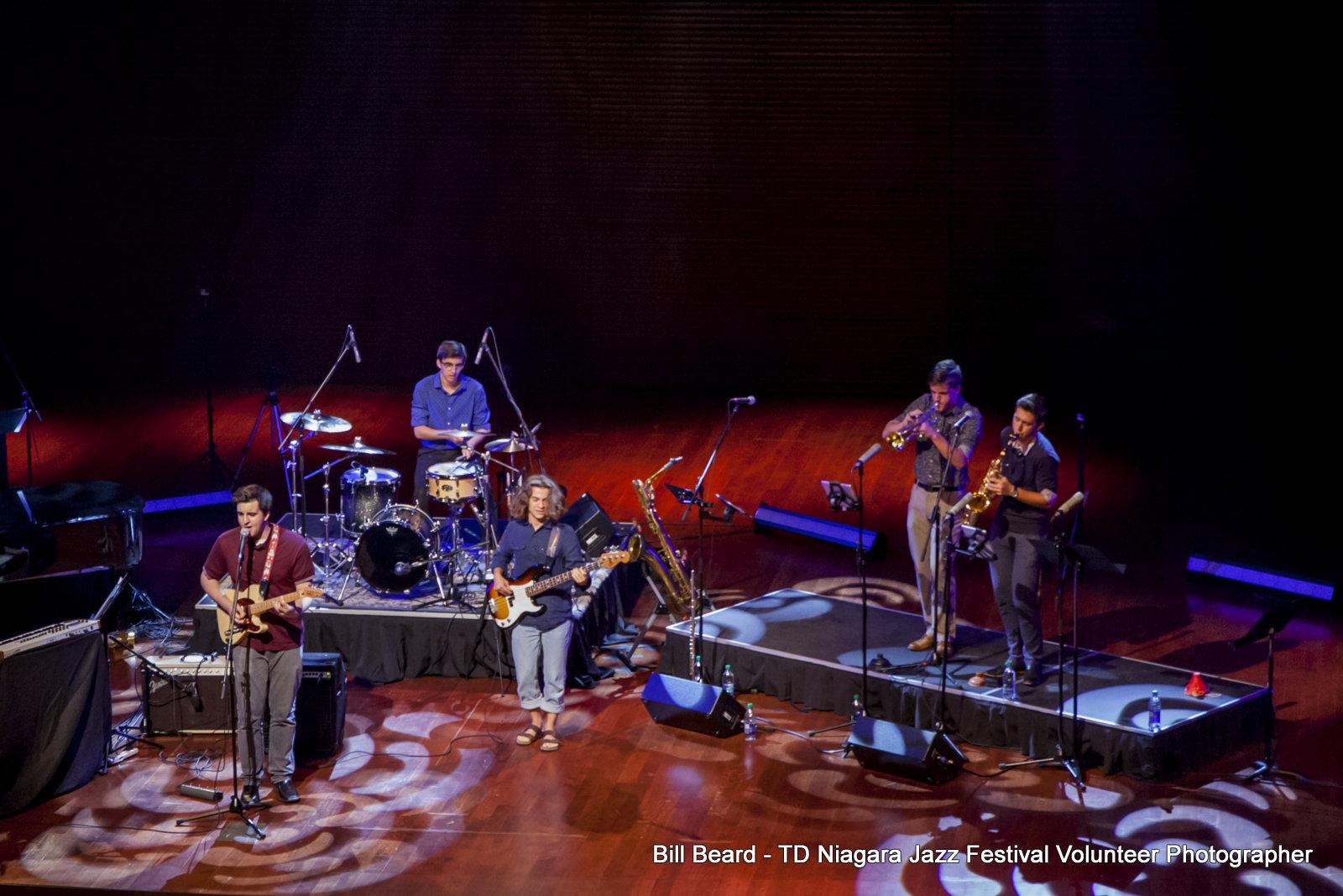 JAZZ in the CITY - Friday, July 28th, 2017 - Youth Band: 4 Beats Behind - FirstOntario Performing Arts Centre. Photo: Bill Beard