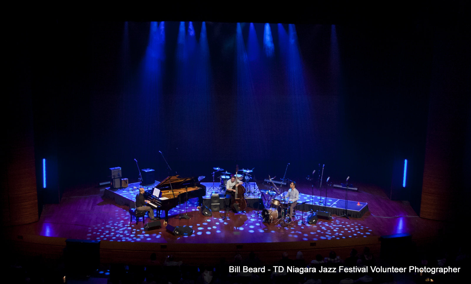 JAZZ in the CITY - Friday, July 28th, 2017 - Adrean Farrugia Trio - FirstOntario Performing Arts Centre. Photo: Bill Beard