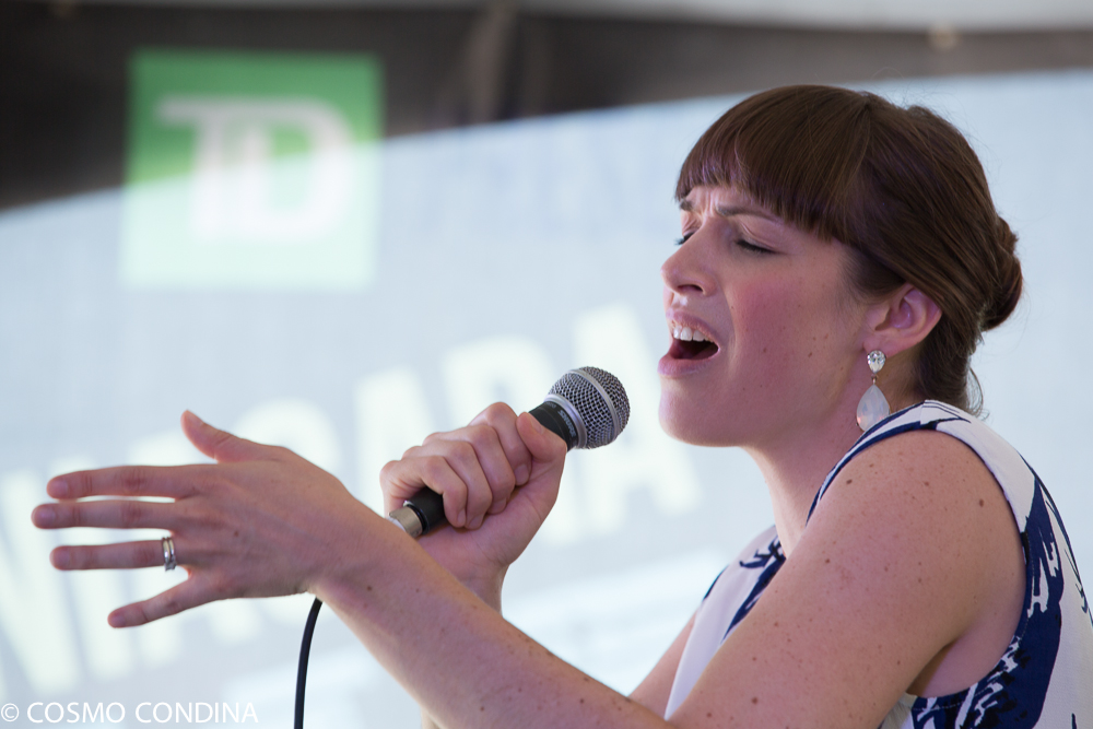 JAZZ on the RISE - Canada 150 Celebration - Megalomaniac Winery - Ashley St. Pierre (Vocals) Sunday, July 30th, 2017. Photo: Cosmo Condina