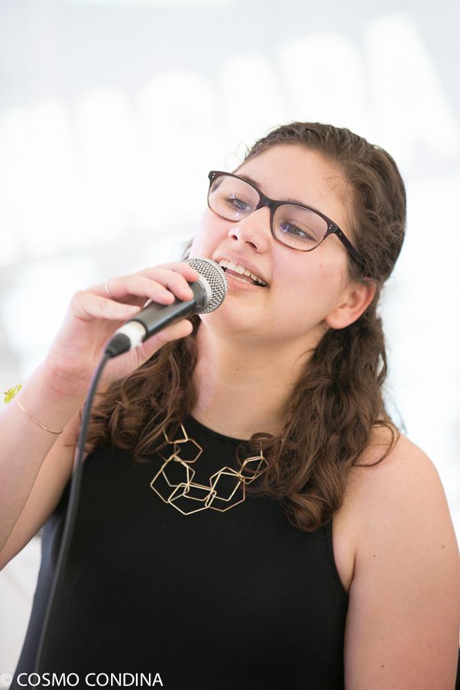 JAZZ on the RISE - Canada 150 Celebration - Megalomaniac Winery - Youth performer: Ariel Shetzen - Sunday, July 30th, 2017. Photo: Cosmo Condina
