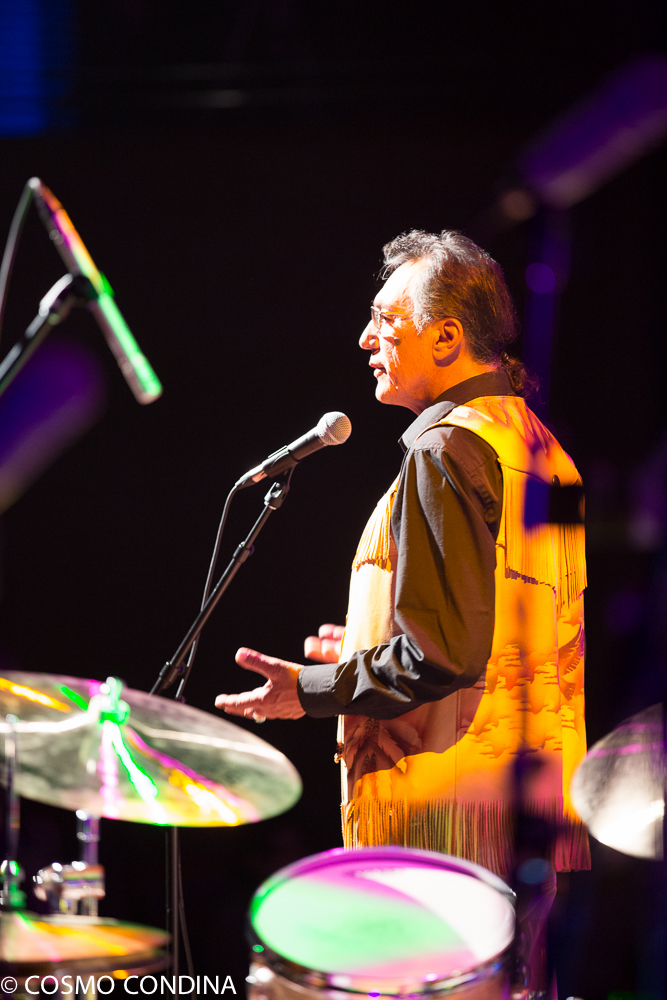 JAZZ in the CITY - Friday, July 28th, 2017 - Indigenous opening ceremony - FirstOntario Performing Arts Centre. Photo: Cosmo Condina