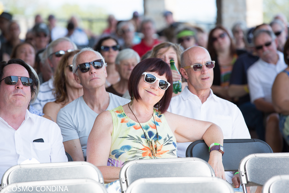 Crowd at JAZZ on the RISE - Canada 150 Celebration - Megalomaniac Winery - Sunday, July 30th, 2017. Photo: Cosmo Condina