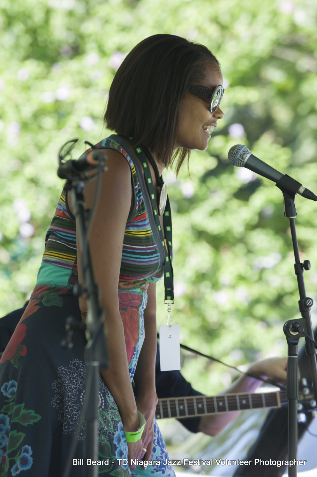 JAZZ on the RISE - Canada 150 Celebration - Megalomaniac Winery - Juliet Dunn(Festival ED with opening remarkst) Sunday, July 30th, 2017. Photo: Cosmo Condina