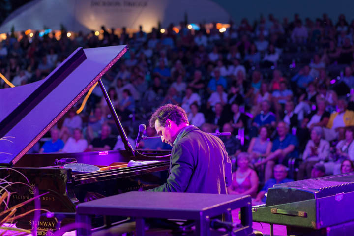 JAZZ in the VINEYARD - Jackson-Triggs Winery: July 24, 2015 - Michael Kaeshammer (Piano & Vocals). Photo: Cosmo Condina