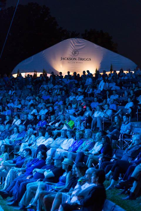 JAZZ in the VINEYARD - Jackson-Triggs Winery: July 24, 2015 - Crowd enjoying Michael Kaeshammer (Piano & Vocals). Photo: Cosmo Condina
