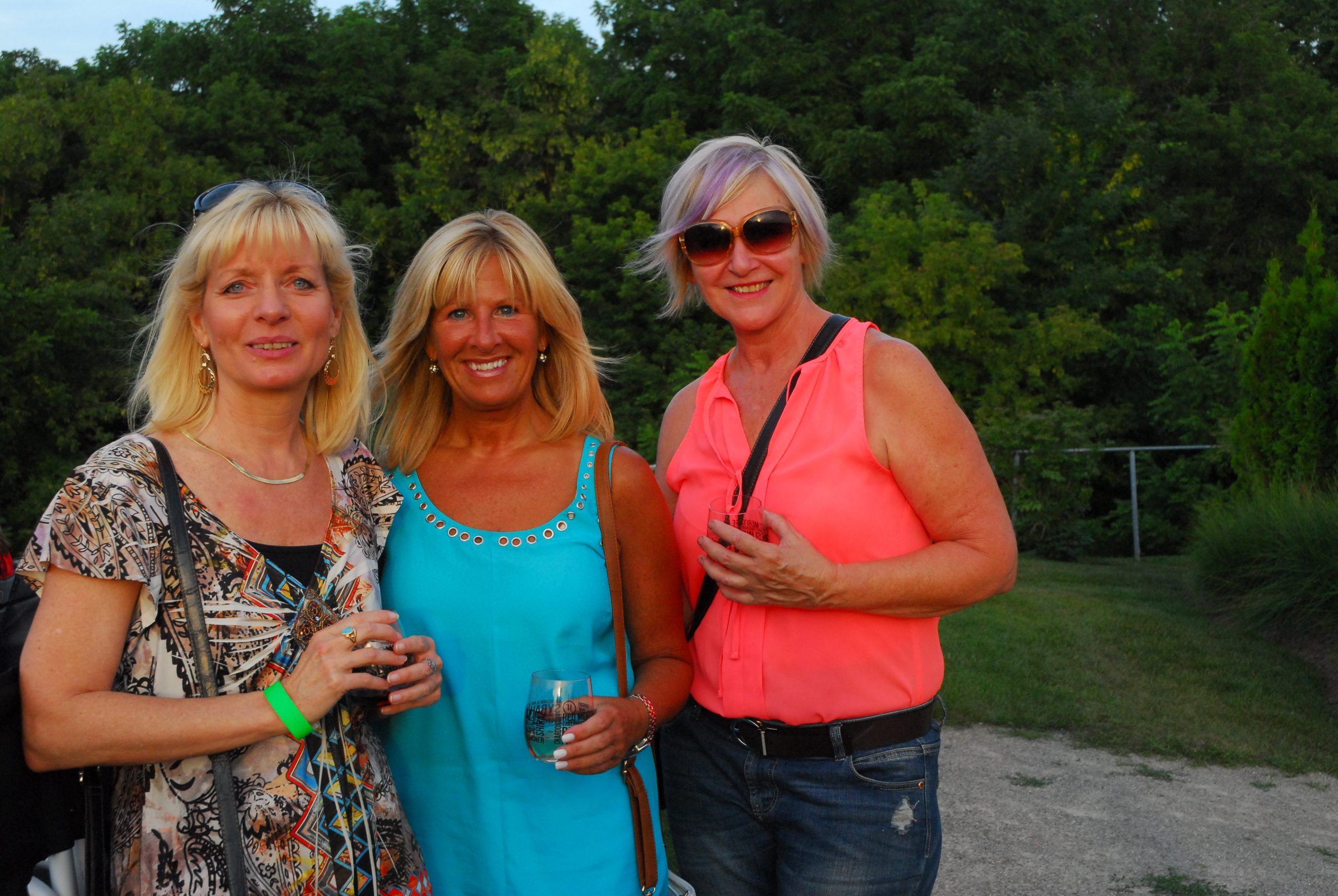 JAZZ in the VINEYARD - Jackson-Triggs Winery: July 24, 2015 - TD NJF fans enjoying the Michael Kaeshammer show (Piano & Vocals). Photo: Snapd