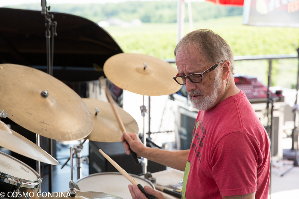 JAZZ on the RISE - Canada 150 Celebration - Megalomaniac Winery - Sunday, July 30th, 2017 - Celebrating Oscar Peterson with the John Sherwood Trio (Terry Clarke on Drums). Photo: Cosmo Condina