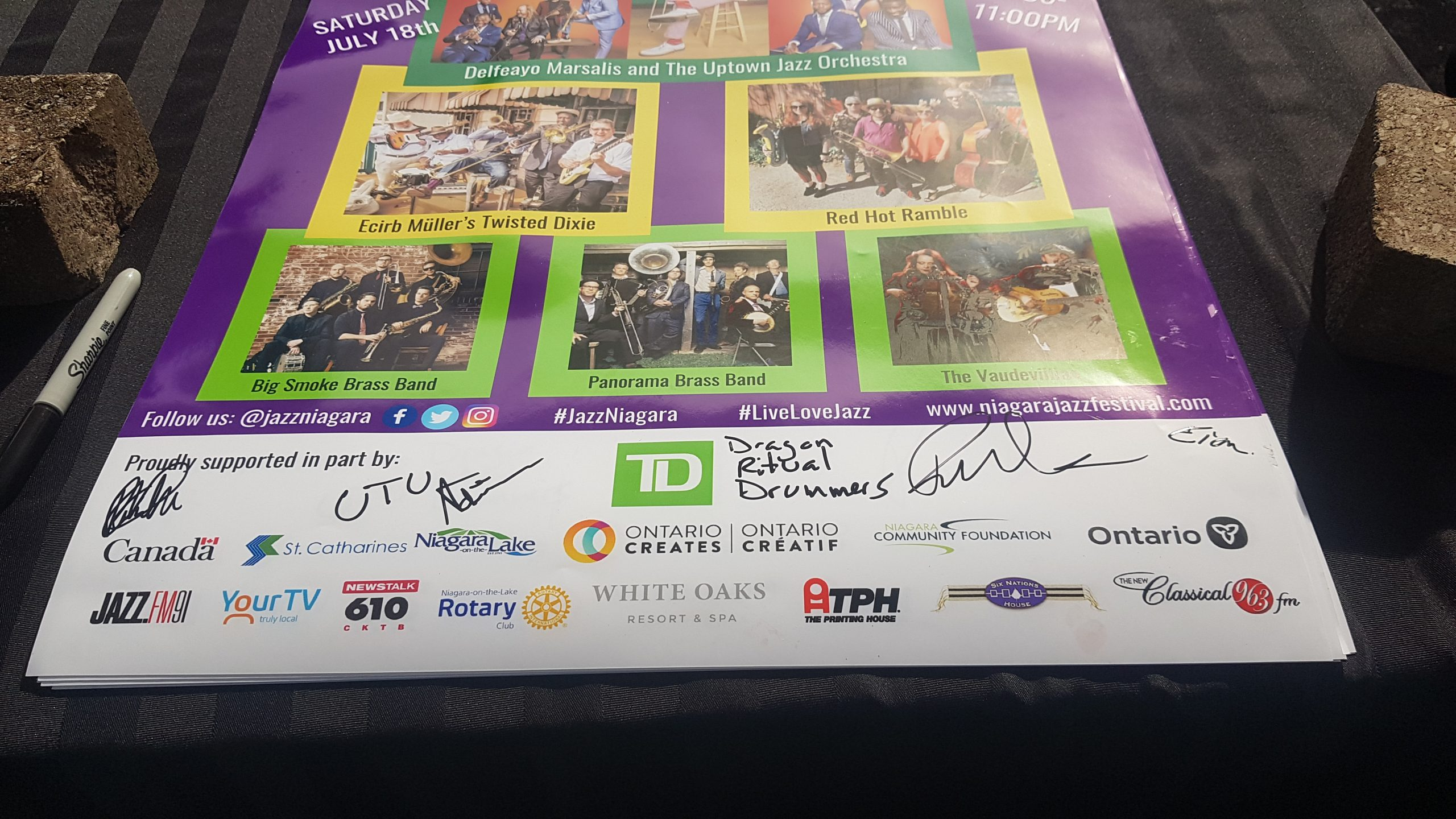 Poster - Niagara's ONLINE Summer Mardi Gras - Saturday, July 18, 2020. Photo: Nicholas Paolone